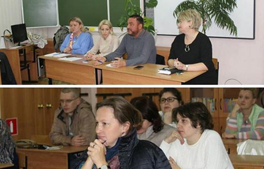 Собрание в Большевяземской гимназии