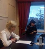 Заседание президиума — Встреча с ГИБДД